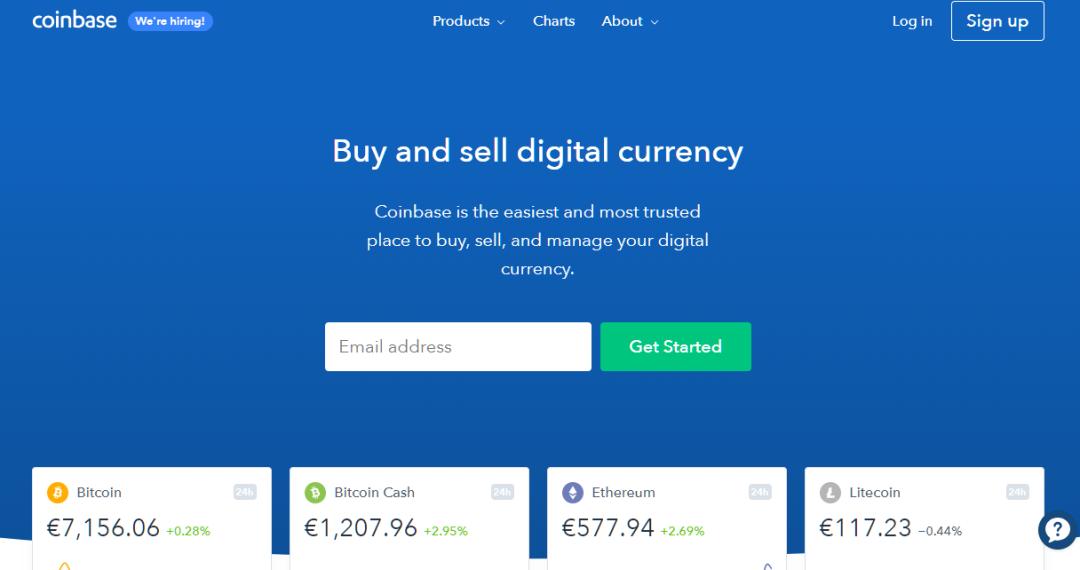 Coinbase portafoglio exchange