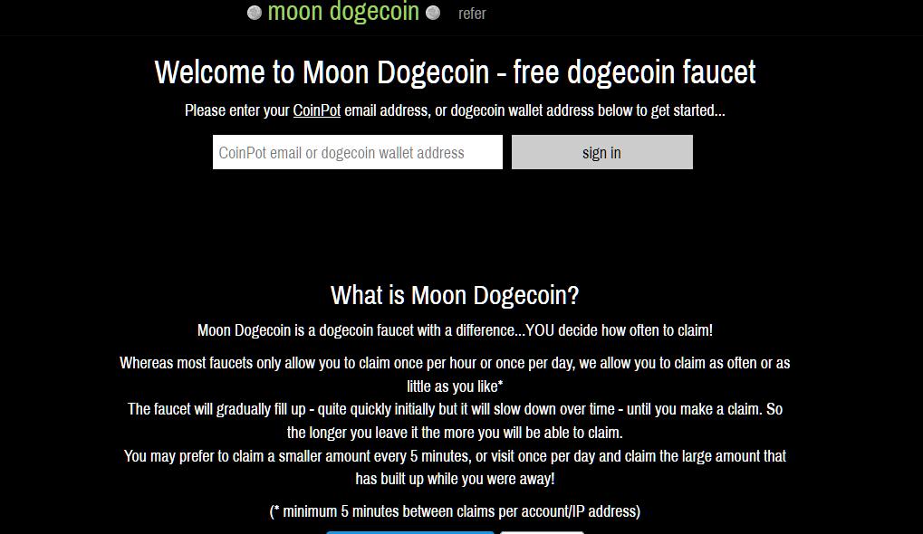 moondogecoin migliori faucet