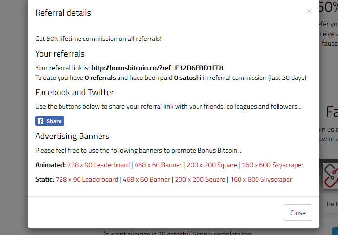bonus bitcoin referral