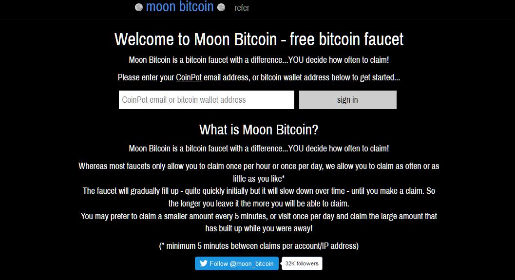 moonbitcoin migliori faucet