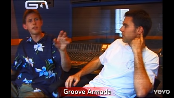 groove armada superstylin video musicale