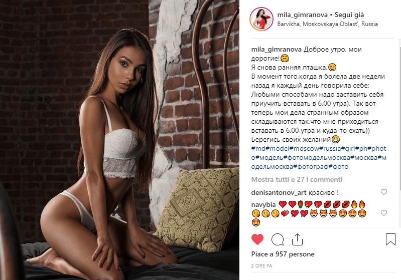 instagirl mila gimranova