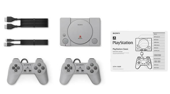 playstation classic contenuto bundle