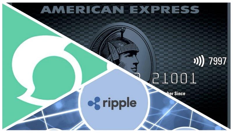 american express test con ripple