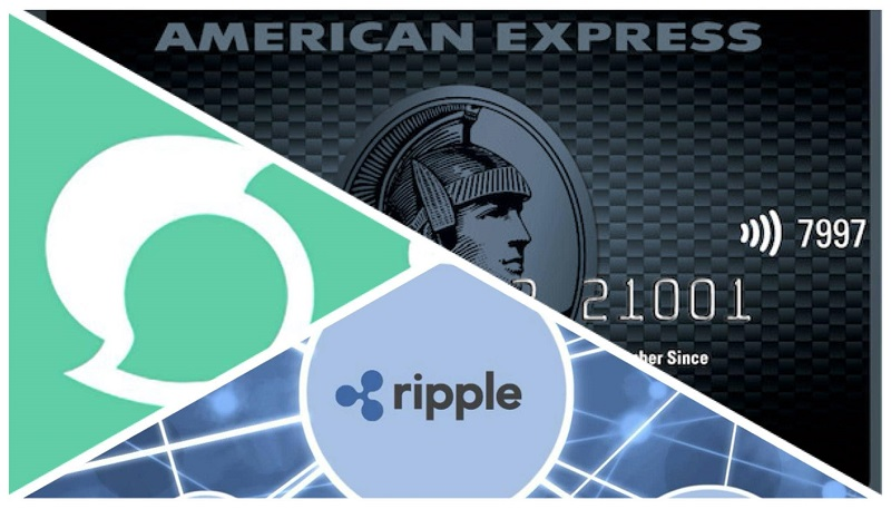 american express test con ripple