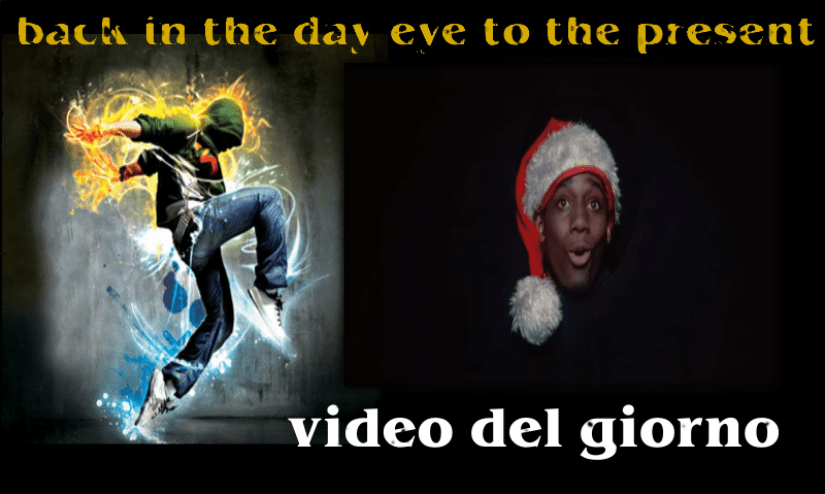 the santa claus rap beat street video musicale