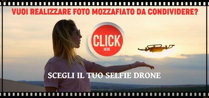 selfie drone banner