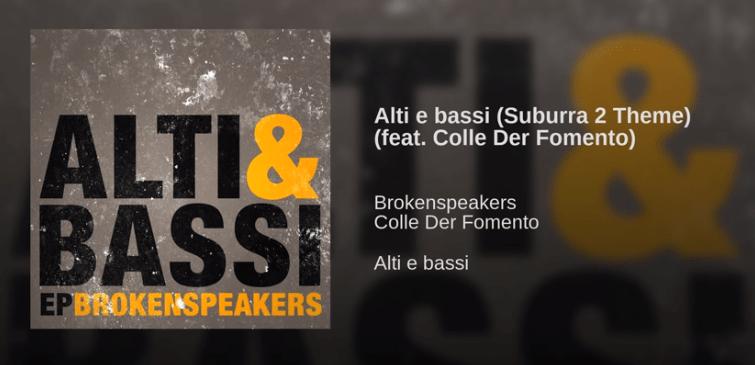 brokenspeakers alti e bassi testo