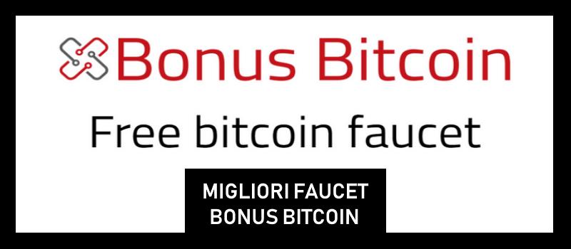 migliori faucet paganti bonus bitcoin