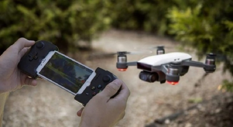 funzionalita droni selfie