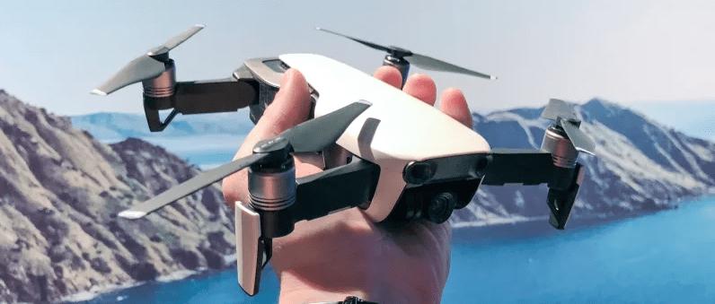 dji mavic air drone per selfie