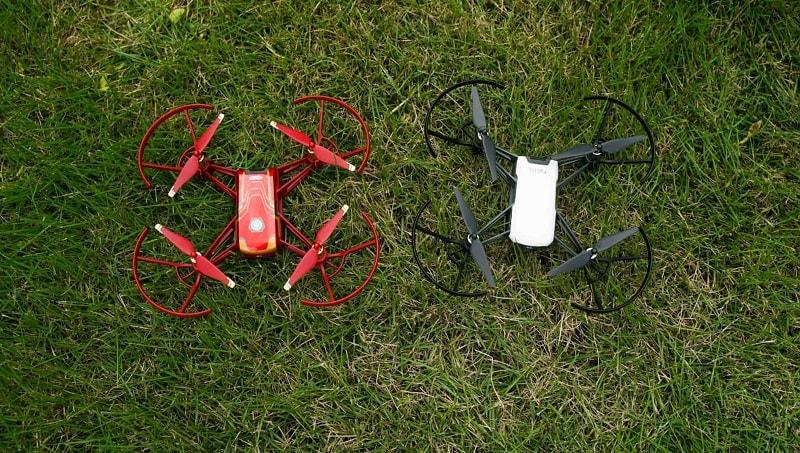 drone tello iron man dimensioni
