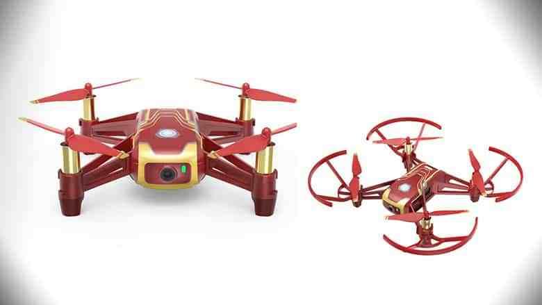 drone dji tello iron man