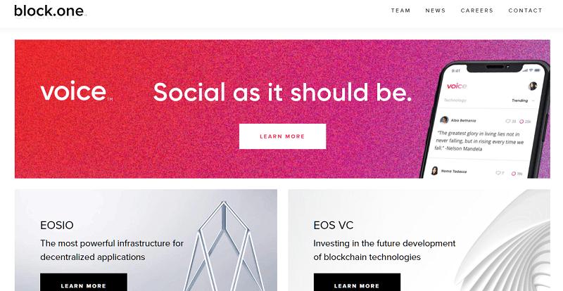 voice social network eos