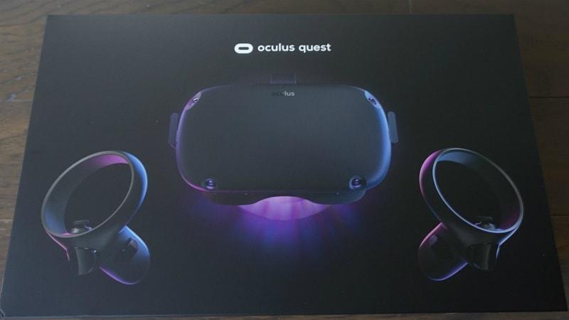 confezione oculus quest