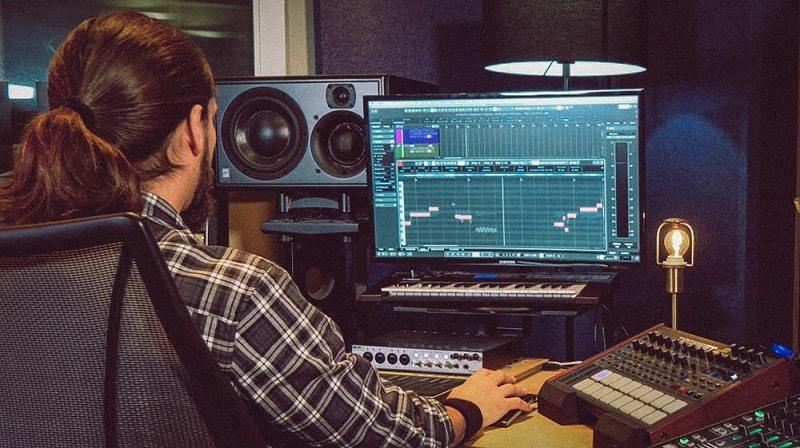 creare musica al computer