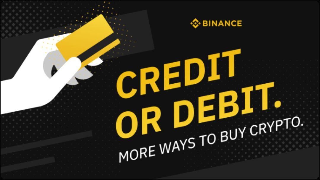 binance acquisto con carta credito