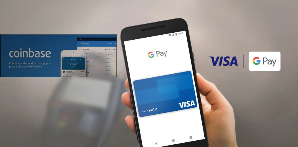 google pay coinbase card