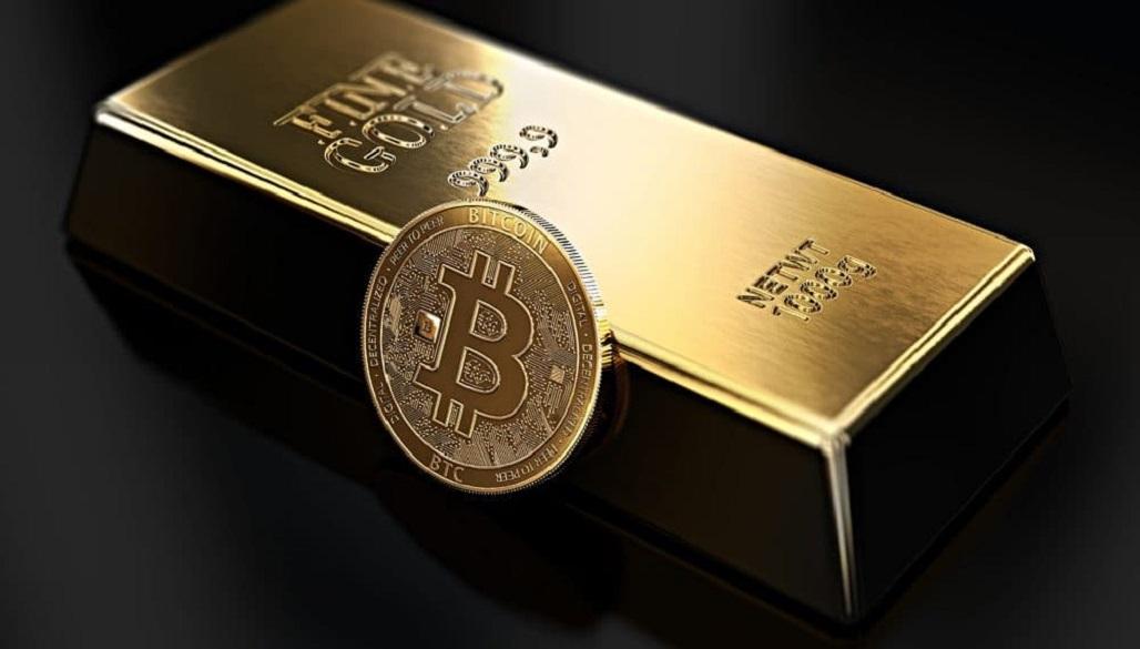 report coinbase bitcoin/oro