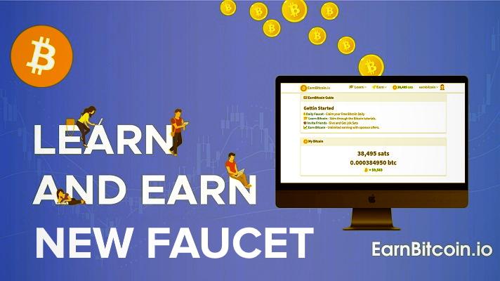 earnbitcoin faucet