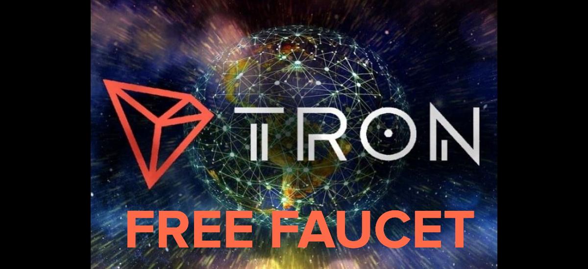 free tron faucet tron gratis