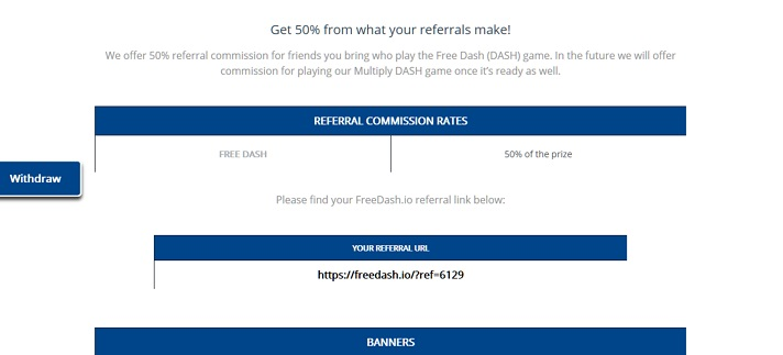 referral code freedash