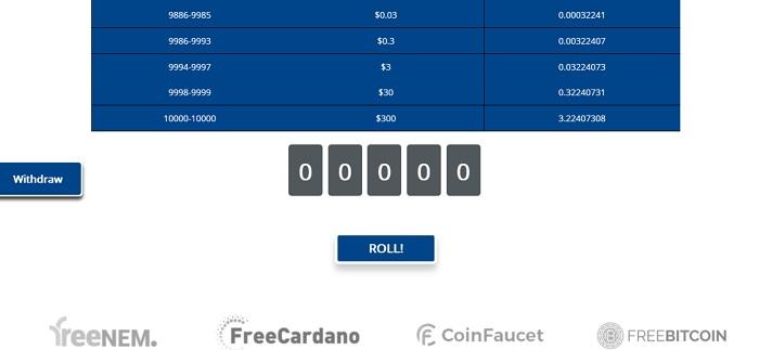 free roll freedash