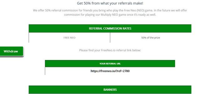 free neo referral program