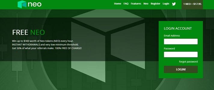 free neo homepage