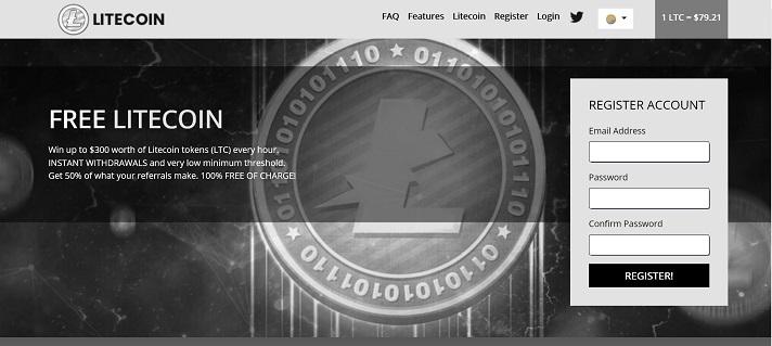 registrazione freelitecoin
