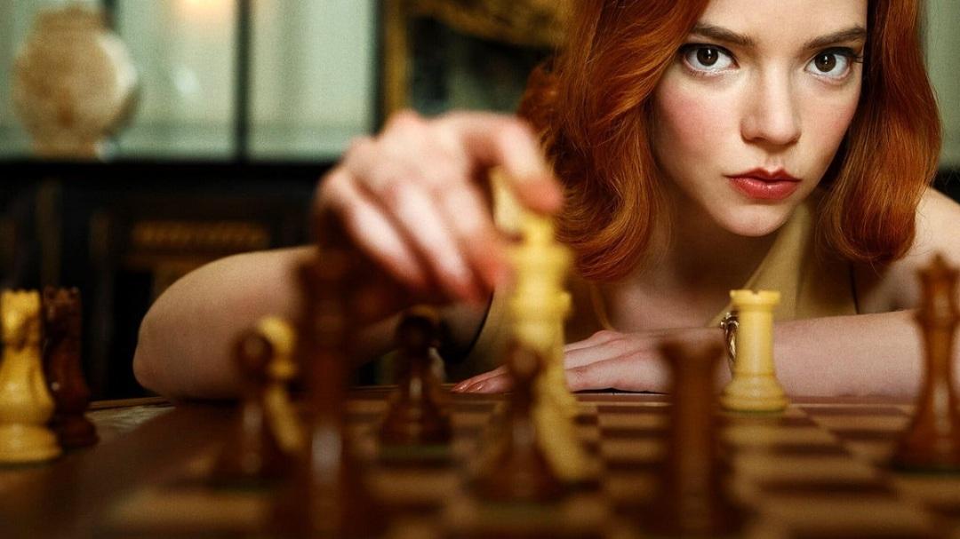 la regina degli scacchi miniserie tv