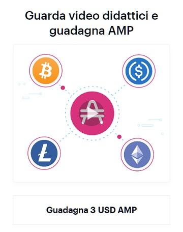 earn amp coinbase