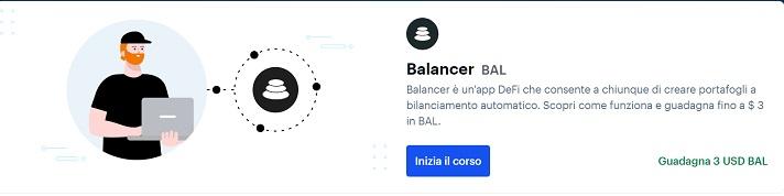 earn balancer coinbase