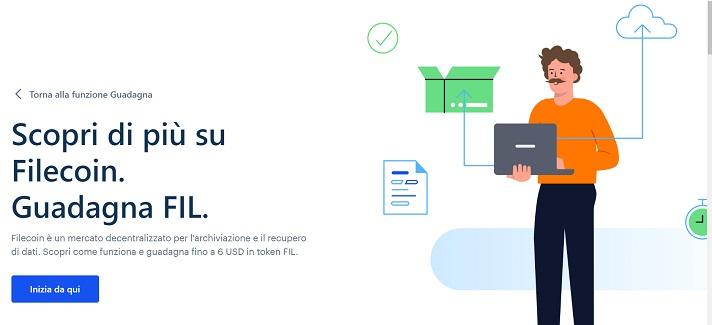 filecoin coinbase earn