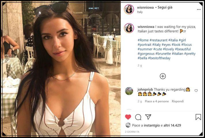 instagirl roksana p. wisnniowa instagram