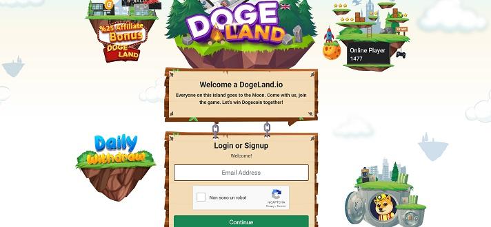 homepage dogeland